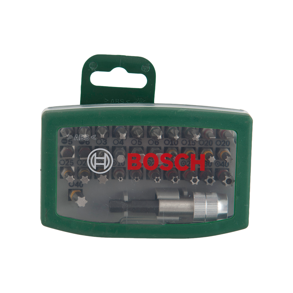 Set capete surubelnite Bosch 2607017063, 32 piese, L 25 mm imagine MatHaus.ro