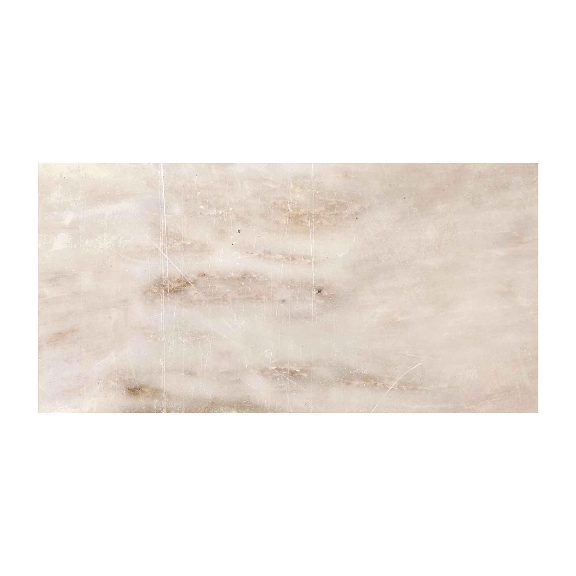 Faianta Cesarom Soft bej, model cu piatra, finisaj lucios, 25 x 50 cm imagine MatHaus.ro