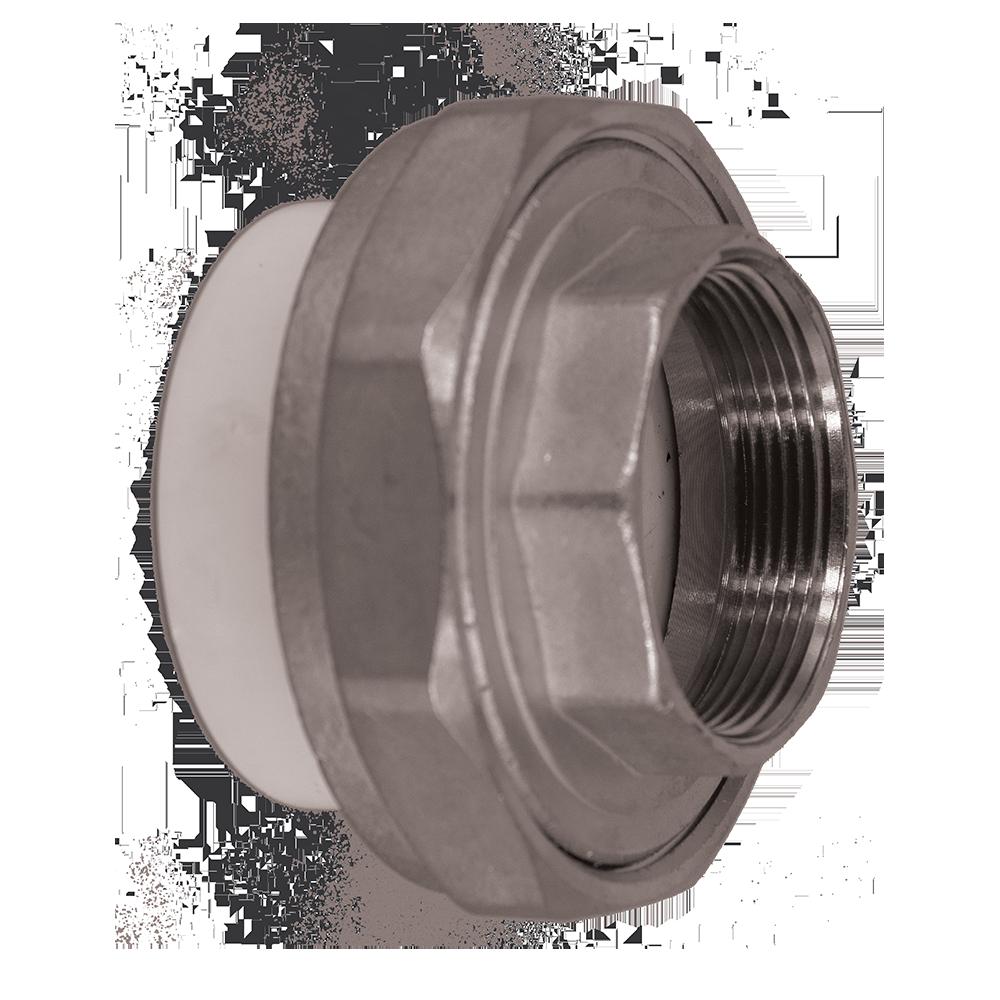 Olandez PP-R FI Vesbo, polipropilena, alb, 63 mm x 2 inch