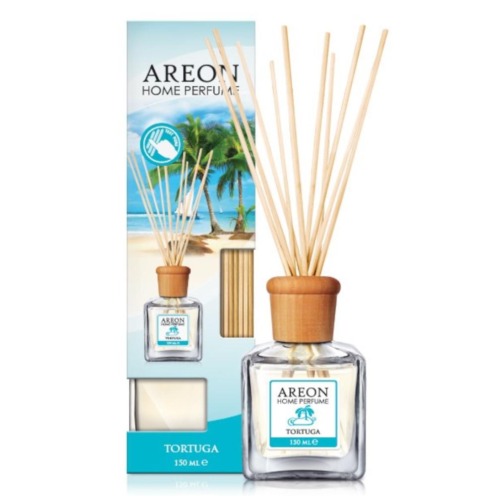 Odorizant cu betisoare Areon Home Perfume, Tortuga, 150 ml imagine 2021 mathaus
