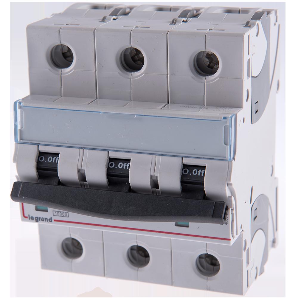 Disjunctor tripolar 3P 10kA 100A 408663 (006496) imagine MatHaus.ro