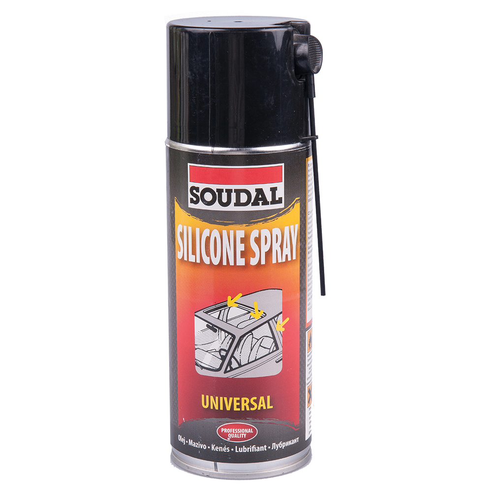 Spray siliconic Soudal universal, 400 ml