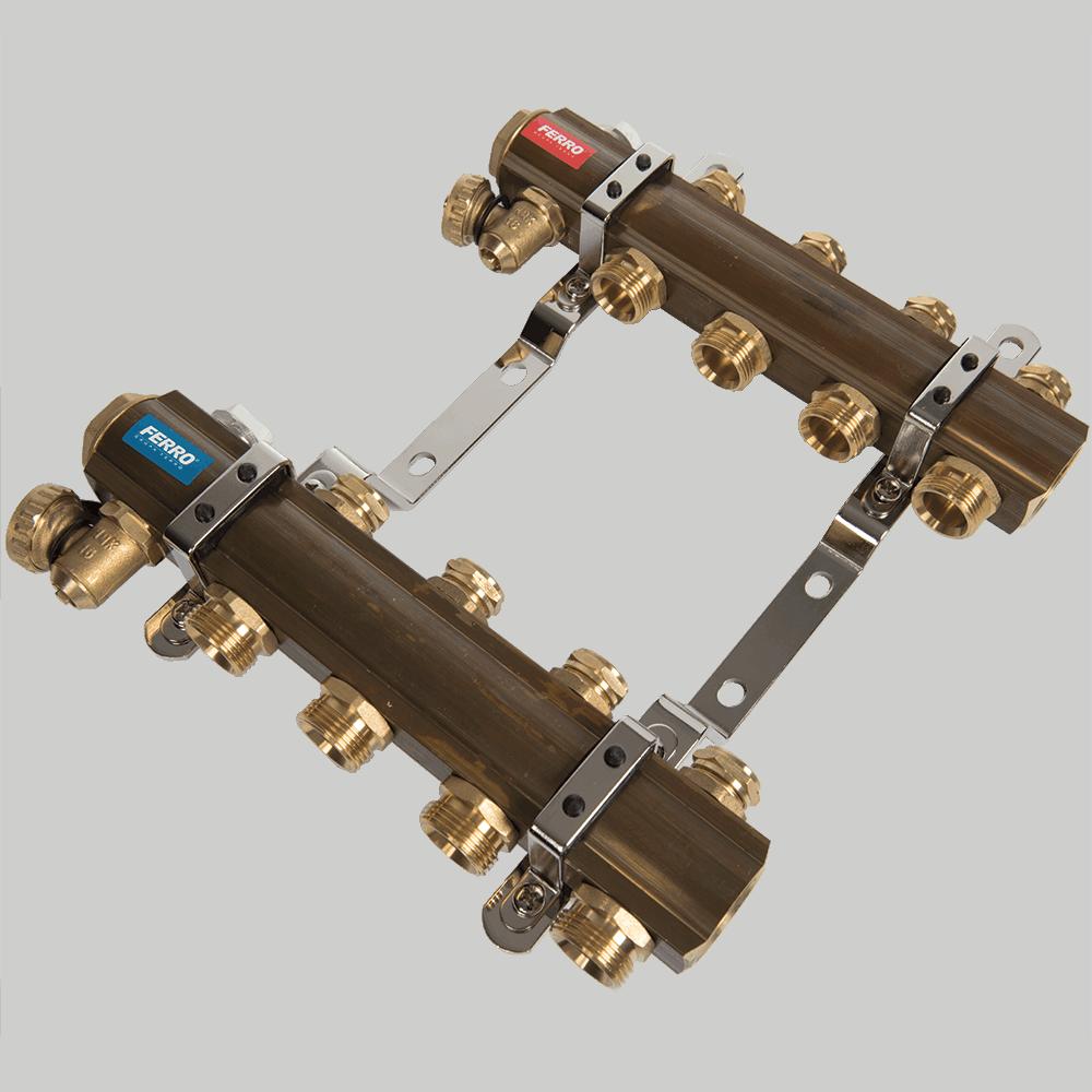 Distribuitor RO04S Ferro, 4 circuite, alama, 1 inch imagine 2021 mathaus