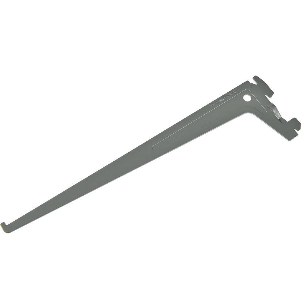 Suport PRO pentru rafturi din lemn, metal sau sticla, L: 500 mm, gri imagine MatHaus.ro
