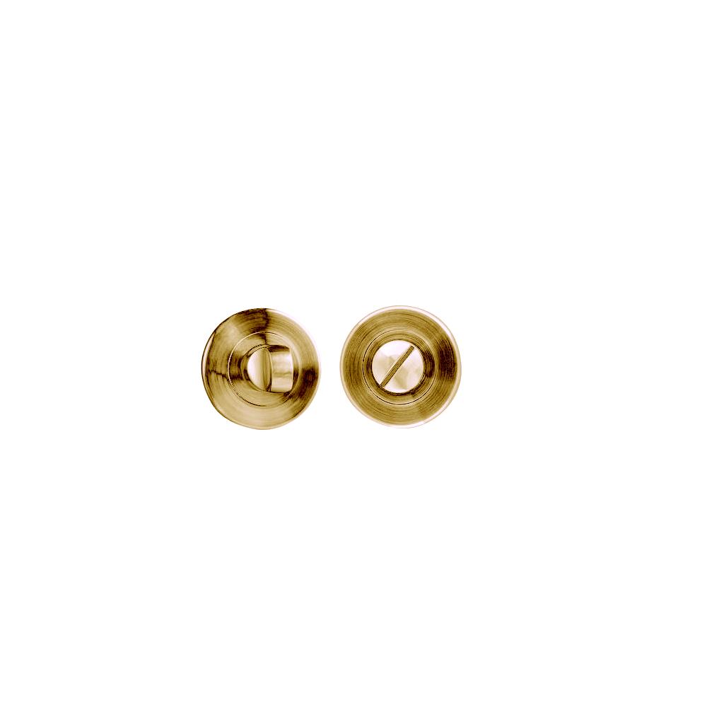 Rozeta pentru WC, rotunda, auriu, ø 54mm