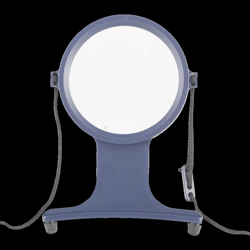 Lupa cu snur si lentila rotativa x2, pentru marire, ø105 mm