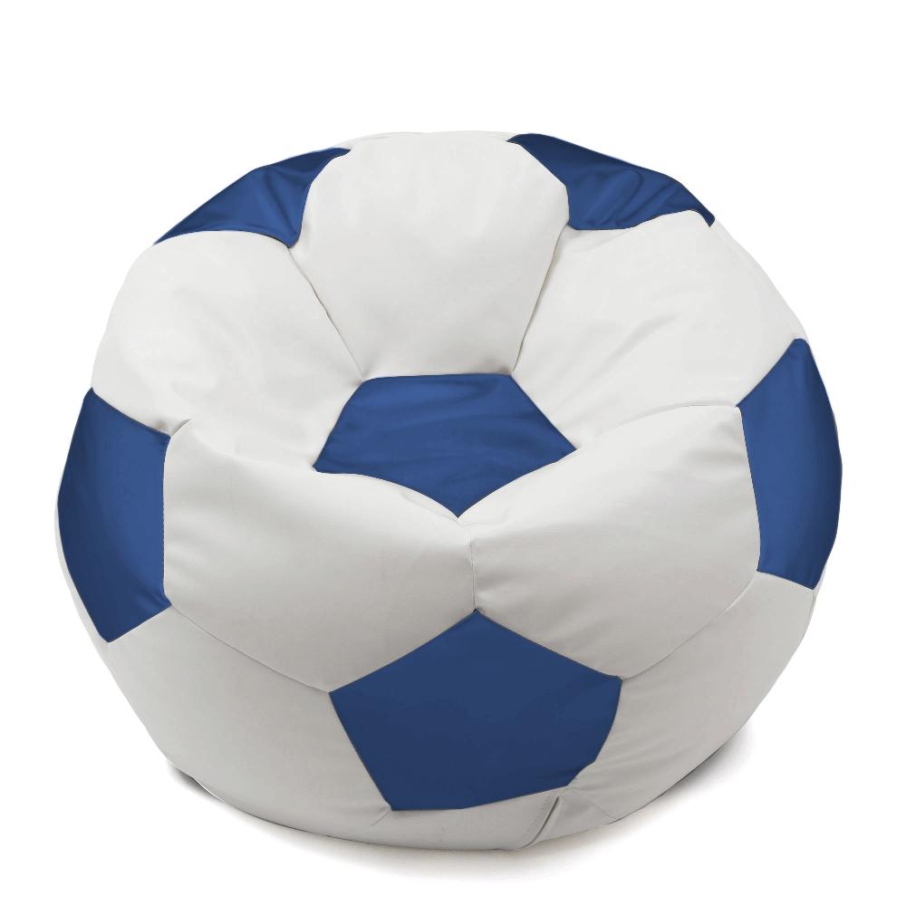 Fotoliu minge IP alb/ albastru, 74 x 74 cm imagine 2021 mathaus