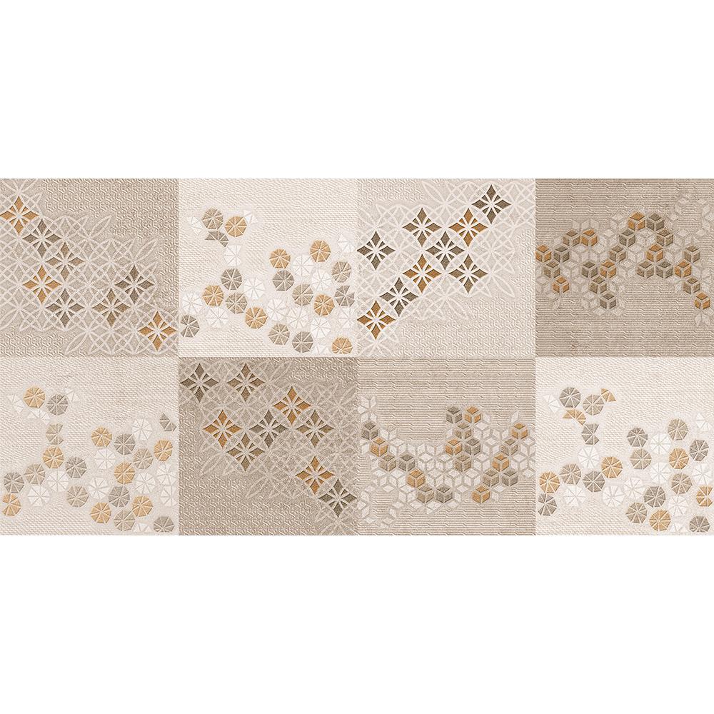 Faianta decorativa Exotica Mirage Marron maro-bej, finisaj estetic, geometric, 30 x 60 cm imagine 2021 mathaus