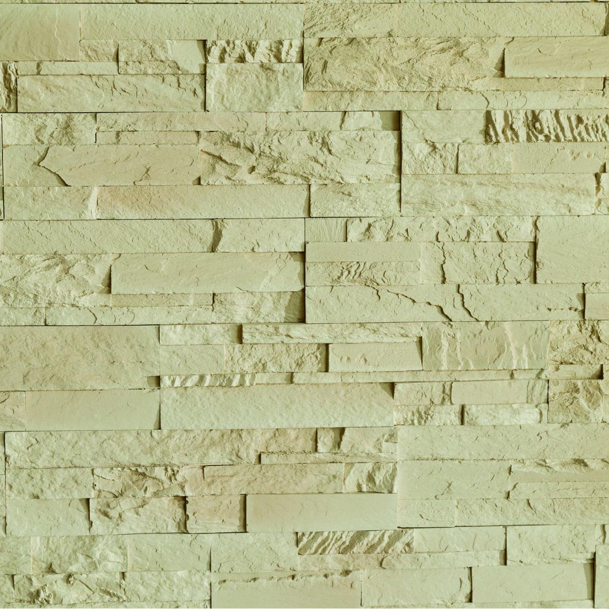 Piatra decorativa Modulo Vista Ivory interior, ivoriu, 37 x 10 cm imagine 2021 mathaus
