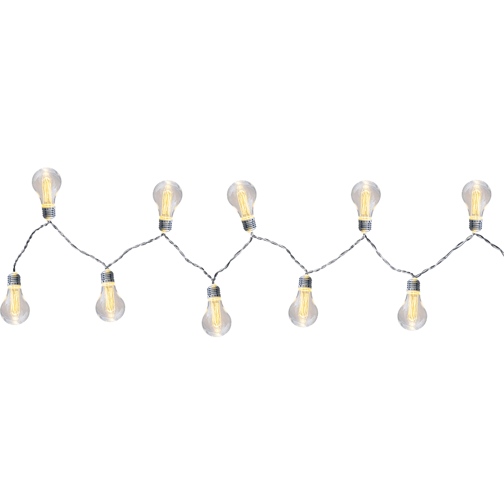 Lant luminos LED Fanal II (29973-10), 10 x 0,6W, lumina calda, cablu 180 cm imagine 2021 mathaus