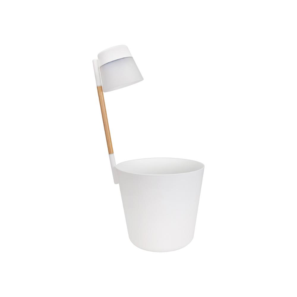 Ghiveci Elho Flower Light, alb, 11 l, diametru 27 cm, 61.5 cm imagine MatHaus.ro
