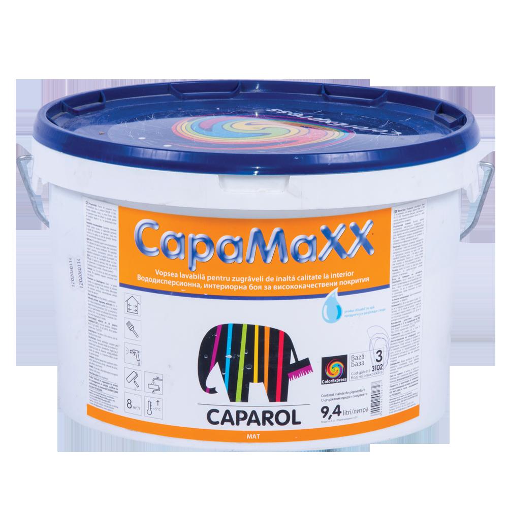 Vopsea lavabila de interior Caparol CapaMaxx, B100, 10l