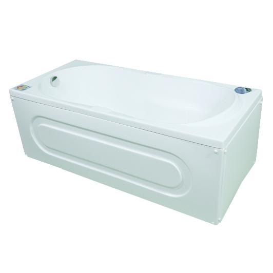 Cada baie acril sanitar, Arabella, 1500 x 700 mm, alb
