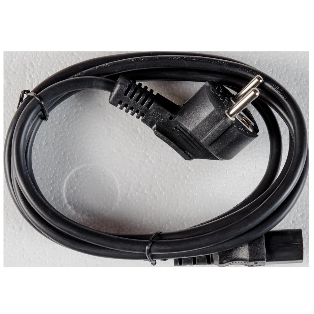 Cablu Schuko alimentare calculator, 90 grade tata – CCE mama, 1,8m