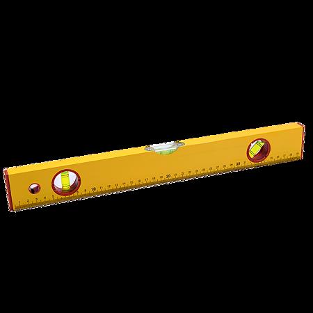 Nivela cu bula Top Tools tip 400, cu 3 indicatori, din aluminiu, 400 mm