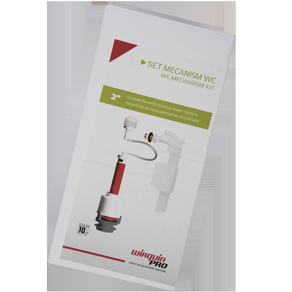 Mecanism pneumatic wc 2