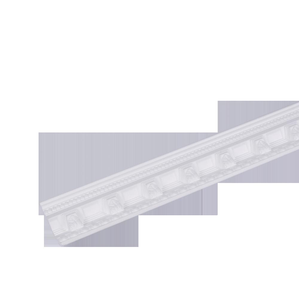 Bagheta decorativa G33, alb, polistiren extrudat, 2 m