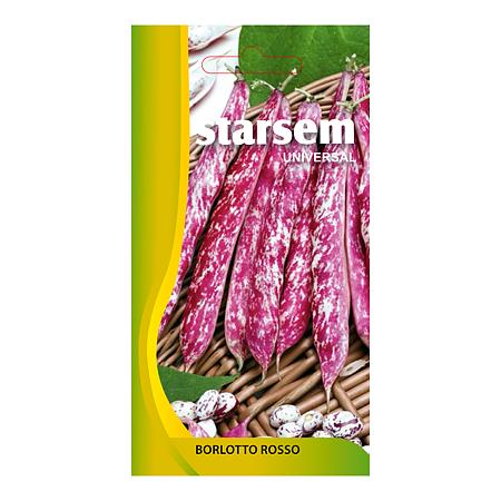 Seminte de fasole boabe, Starsem Borlotto Rosso