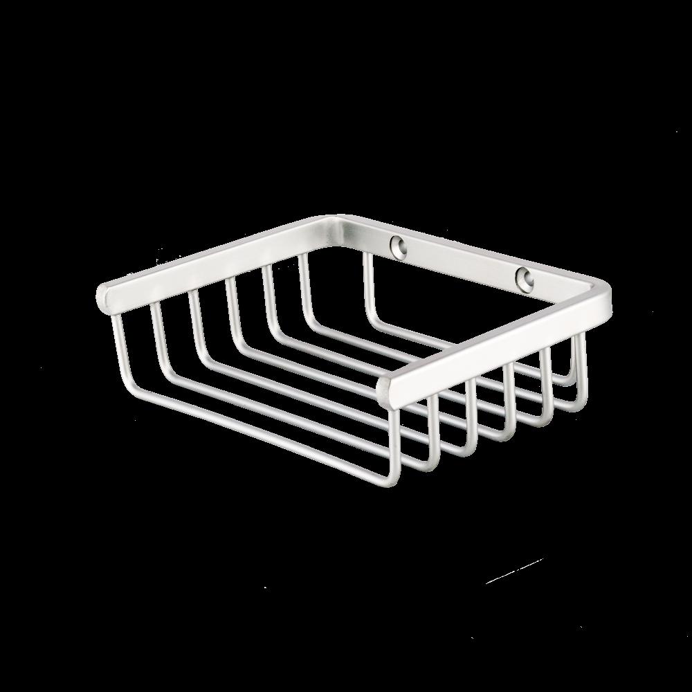 Etajera pentru baie mica Romtatay, aluminiu, argintiu, 1 raft, 15 x 10.5 x 4 cm mathaus 2021