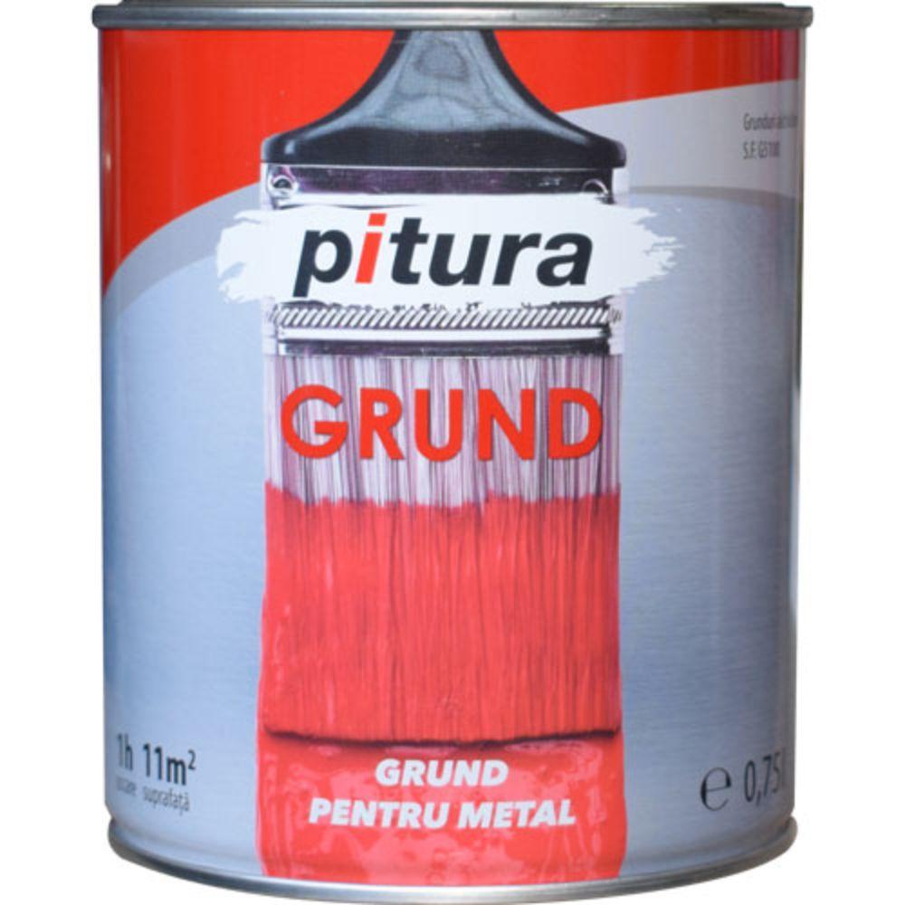 Grund Pitura rosu oxid 0,75 L