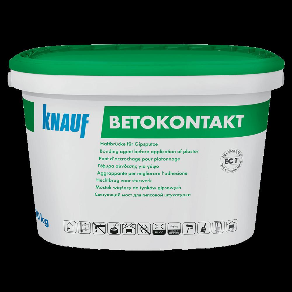 Amorsa pentru suprafete neabsorbante din beton Knauf Betokontakt, 20 kg