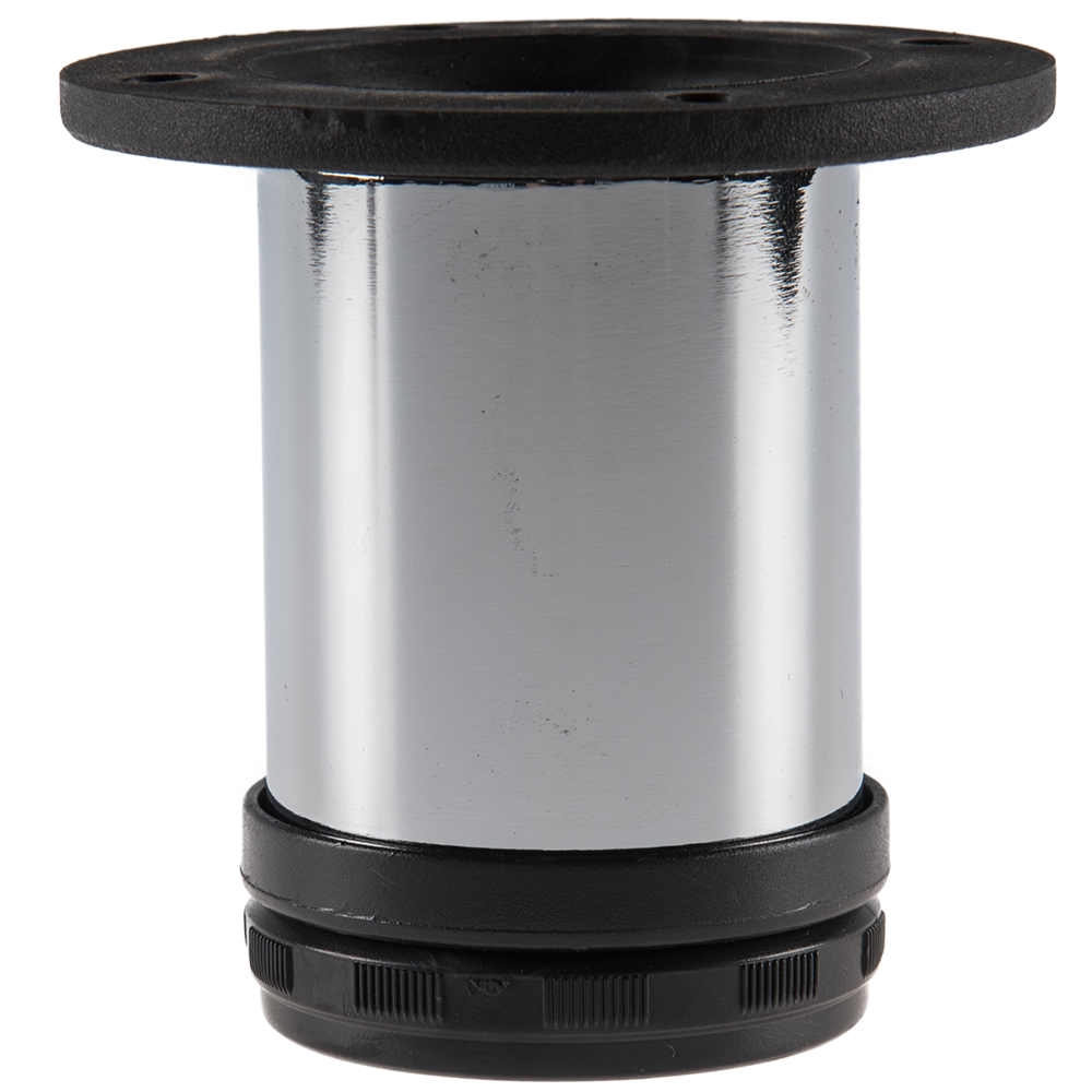 Picior rotund crom TL043 D50 x 80 mm imagine MatHaus.ro