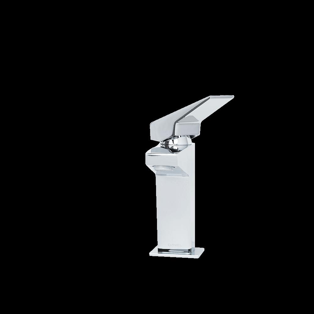 Baterie monocomanda pentru lavoar Daniel Rubinetterie Speed, alama sanitara, cartus ceramic, cromat mathaus 2021
