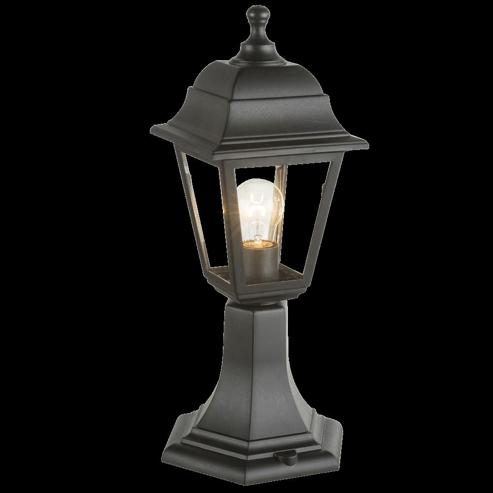 Stalp pentru iluminat exterior Luca, 1 x E27, 60 W, negru