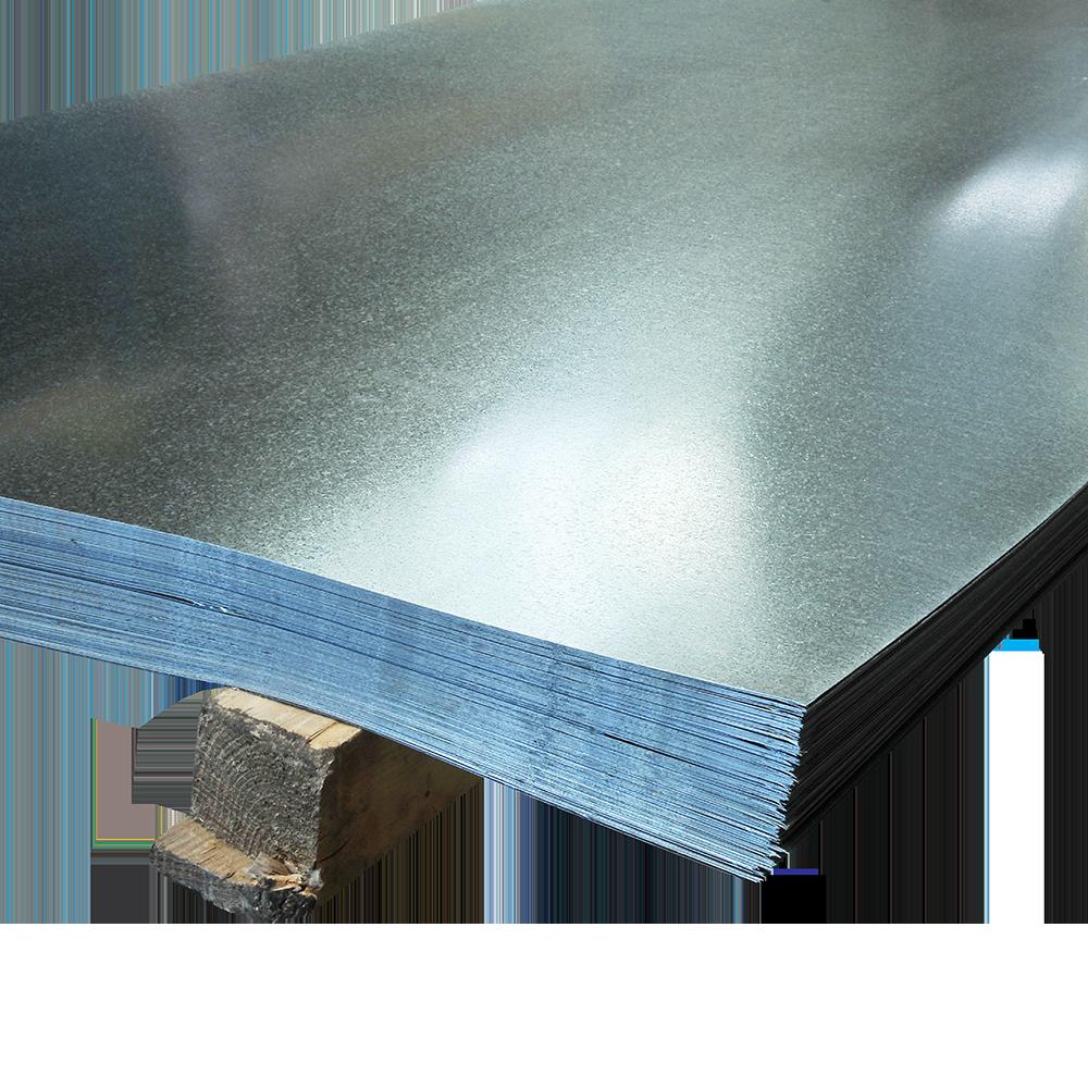 Tabla zincata lisa 0,35 x 1000 x 2000 mm imagine MatHaus.ro