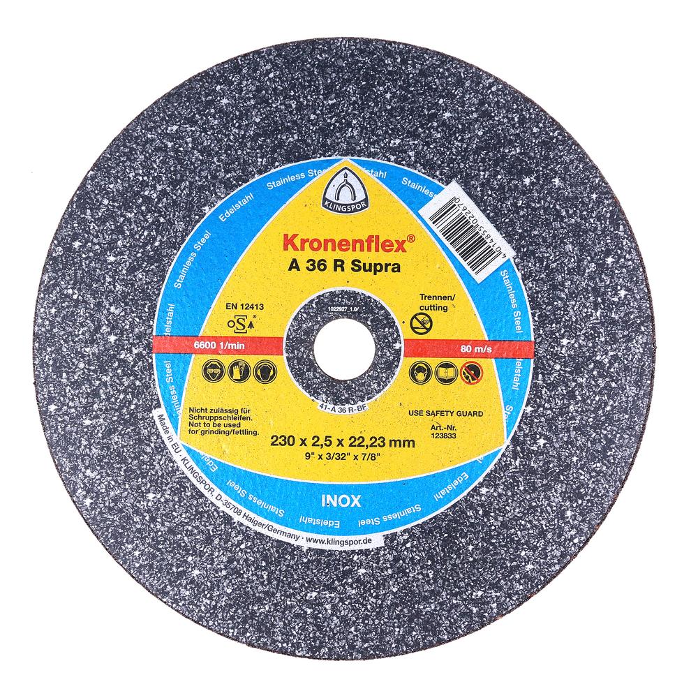 Disc Debitare Inox Klingspor 123833 230 X 2,5 X 22,23 mm imagine 2021 mathaus