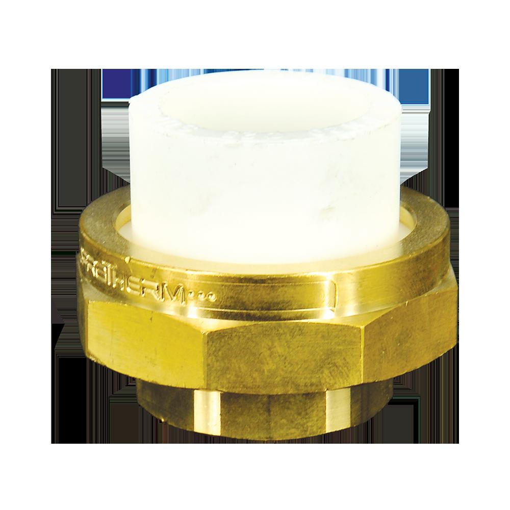 Olandez Supratherm, PP-R, filet interior, alb, 25 mm x 3/4 inch