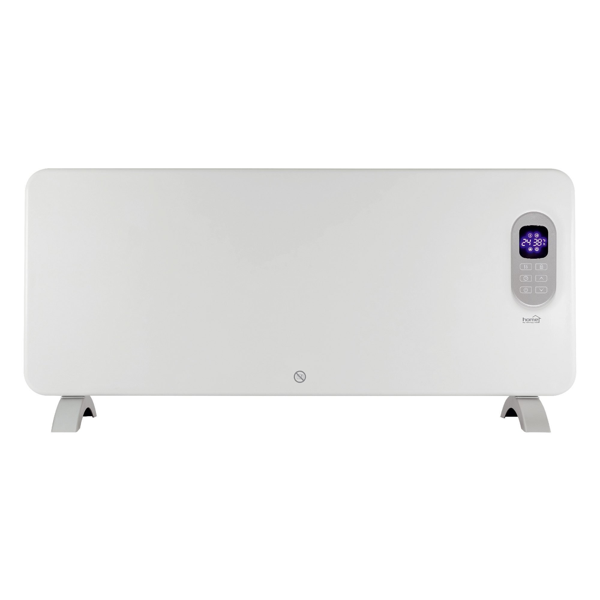 Convector electric smart Home by Somogyi FK 420, Wifi, 2000W, sticla, 92 x 43 x 24 cm