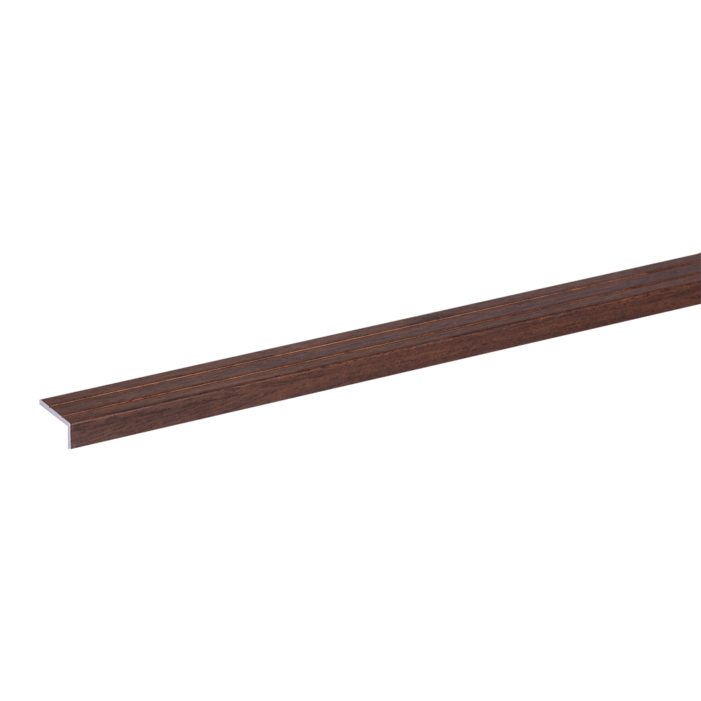 Profil inchidere parchet Set Prod S46 autocolant, aliaj de aluminiu 6063, nuc, 1 m imagine 2021 mathaus