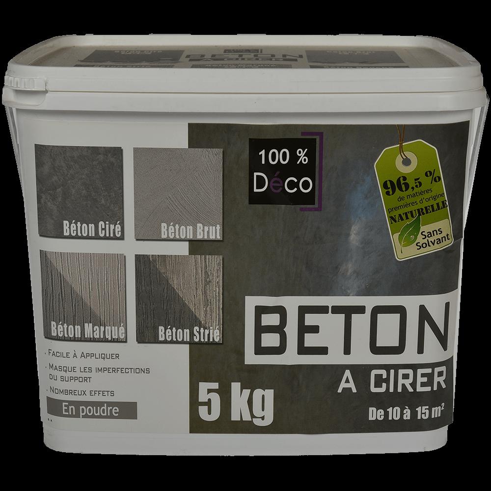 Baza de colorat cu efect de beton, Senideco Beton a cirer, 5 kg
