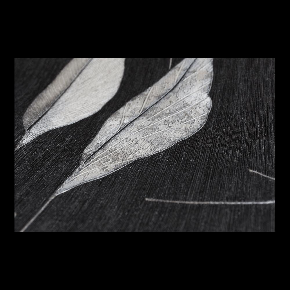 Tapet vinil Seela Adoro, model negru, 10 x 0,53 cm