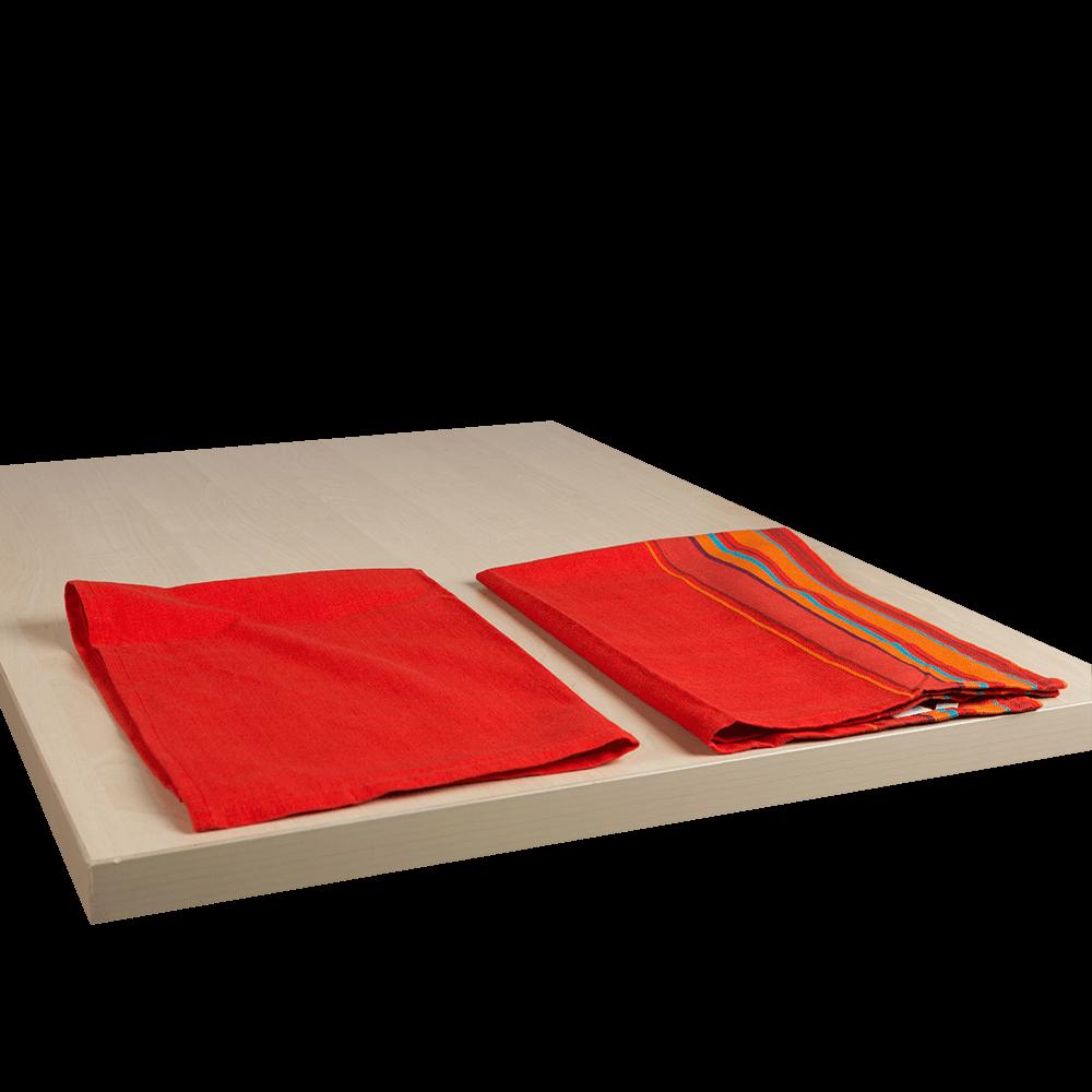 Set 2 prosoape bucatarie, 50 x 70 cm, diverse culori, 100% bumbac