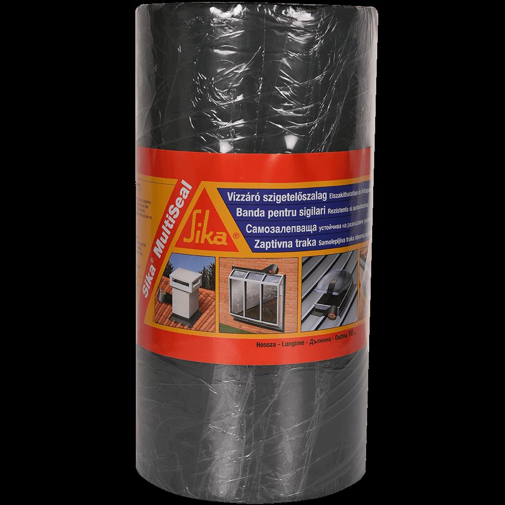 Banda sigilanta autoadeziva, Sika Multiseal, 30 cm x 10 m, gri