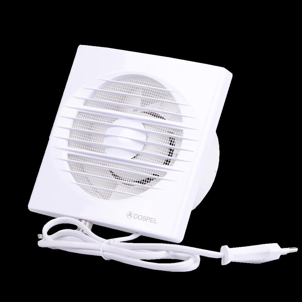 Ventilator axial cu inreruparor cu fir Dospel Rico 100 WP