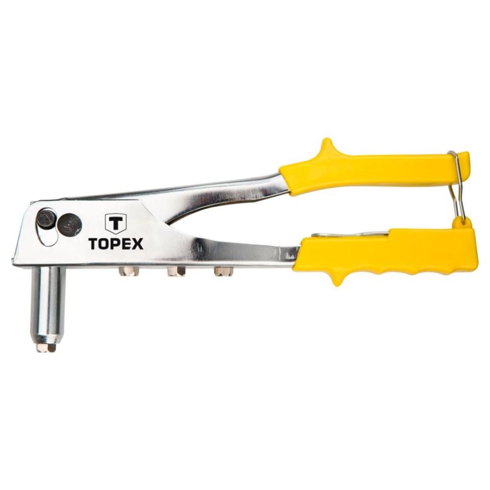 Cleste pentru nituri Topex, 250 mm