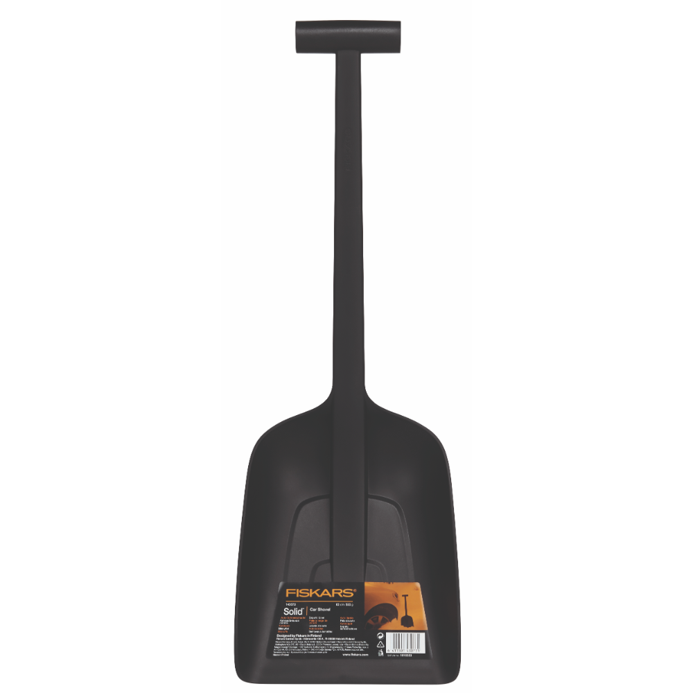 Lopata pentru masina Fiskars Solid, plastic, 0,5 kg, 630 mm imagine 2021 mathaus
