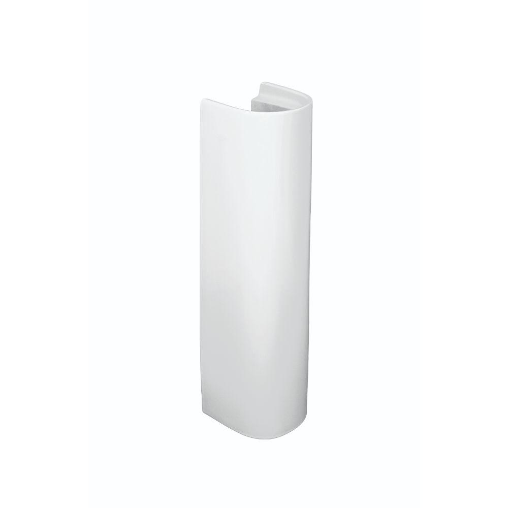 Piedestal lavoar Roca, portelan, alb, 17.5 x 18 x 70 cm imagine 2021 mathaus