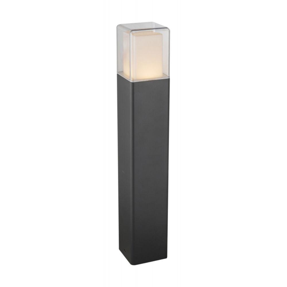 Stalp de iluminat ornamental, exterior, Globo Dalia 34576, 1xLED, IP44, max 12W, 500 mm