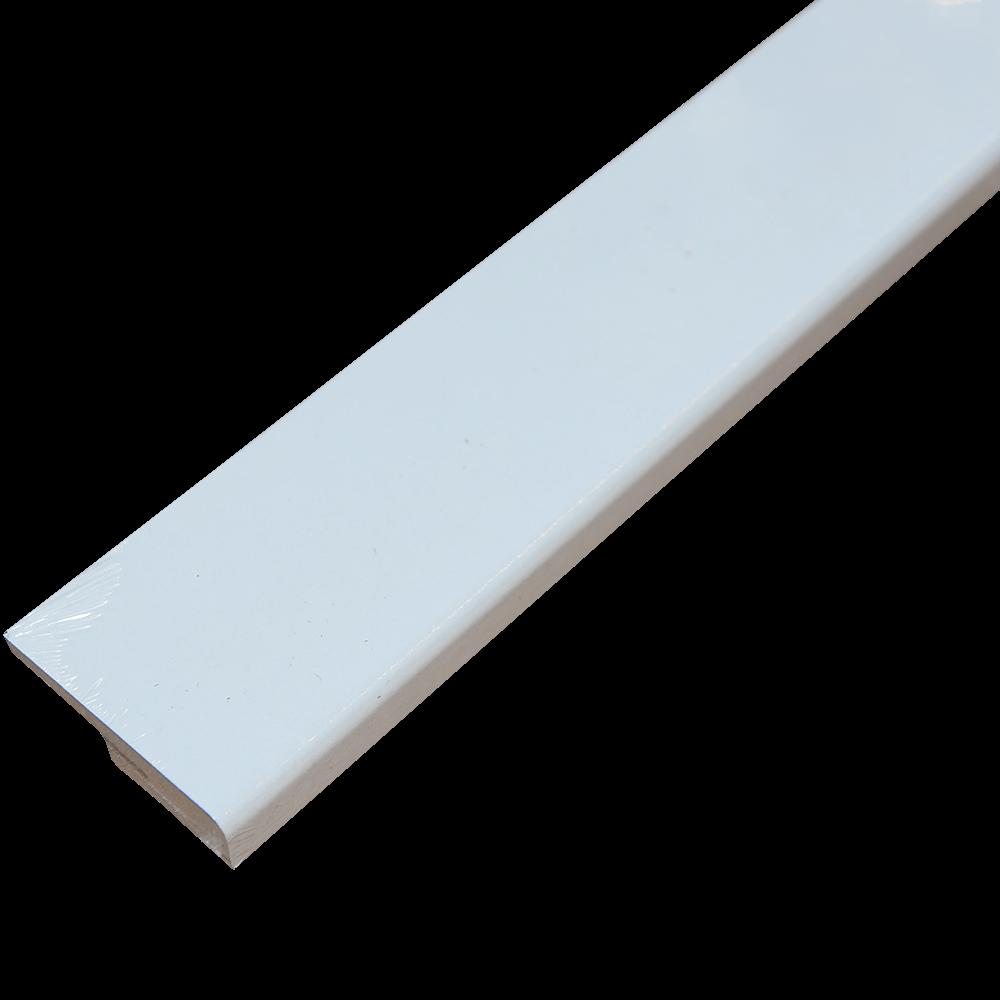 Plinta parchet, MDF, alb, Paint IT MP0602, 2420x60 mm imagine MatHaus