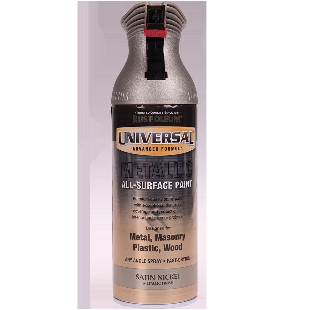 Spray Universal all-surface metal nichel satinat 400 ml