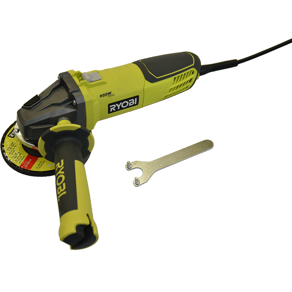 Polizor unghiular Ryobi RAG950-S125 , 950W, 125mm imagine 2021 mathaus