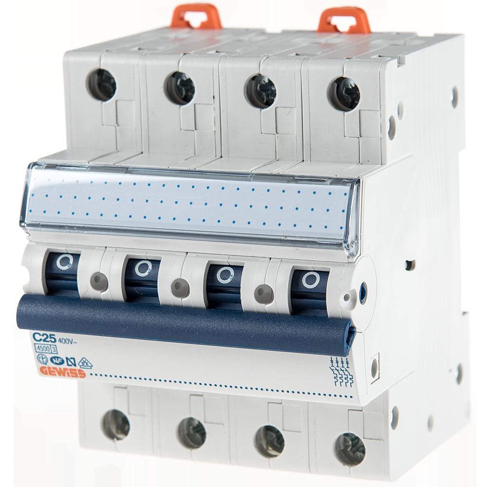 Disjunctor MCB 3P 4.5KA C25 GW92190 imagine MatHaus.ro