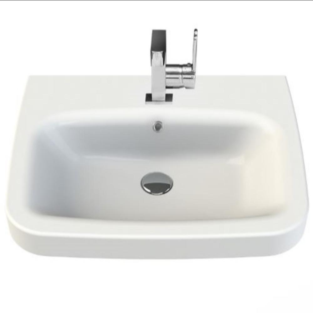 Lavoar Menuet Noura, ceramica sanitara, 60 x 48 cm mathaus 2021