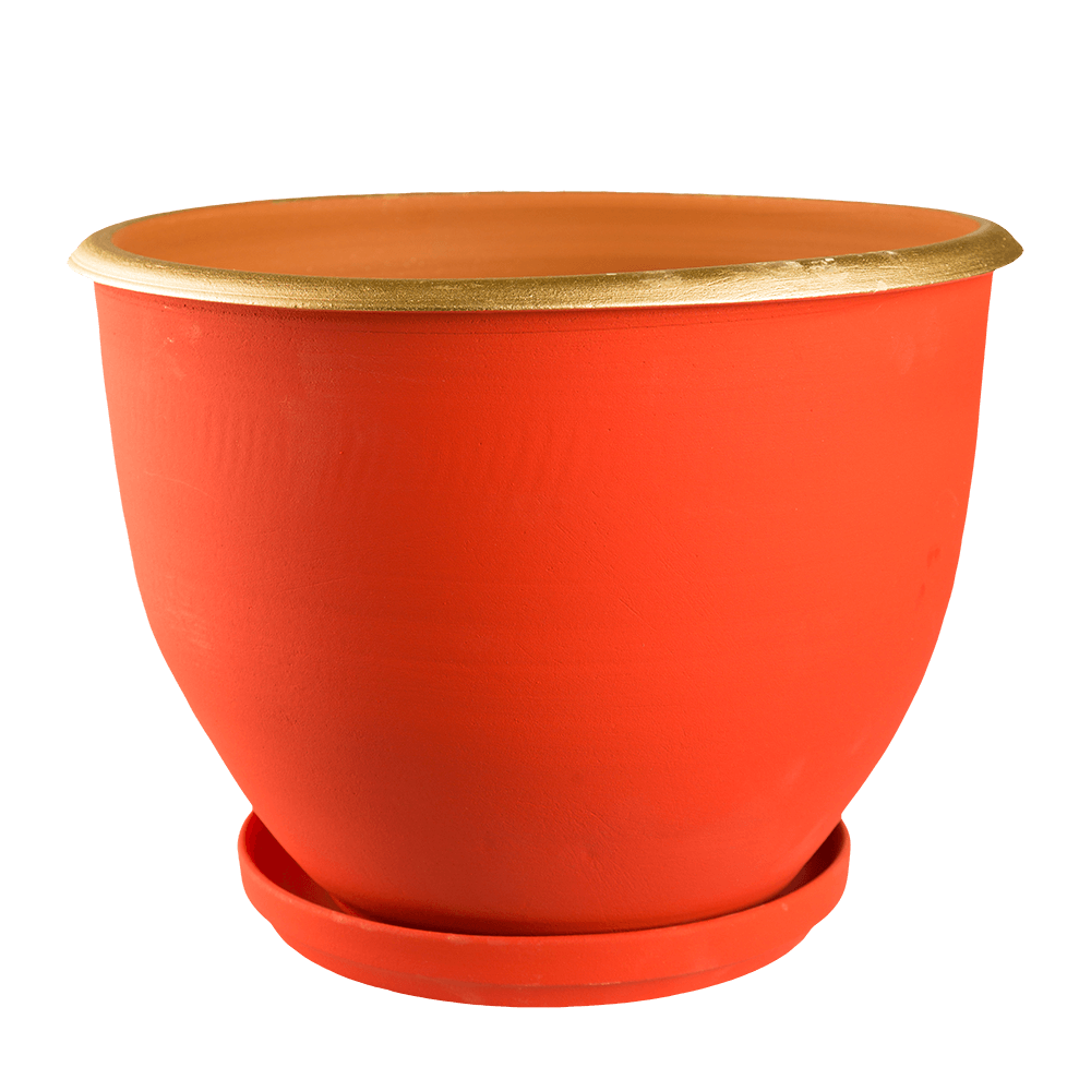 Ghiveci suport cu guler, 30 cm imagine MatHaus.ro