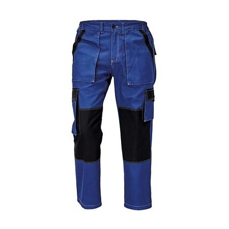 Pantaloni pentru protectie Dalgeco Max Summer, bumbac, albastru/negru, marimea 48