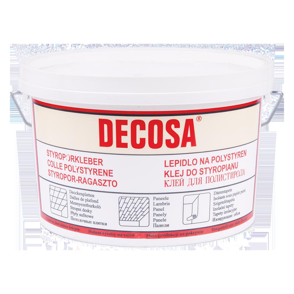 Adeziv pentru polistiren Decosa, interior, 4 kg